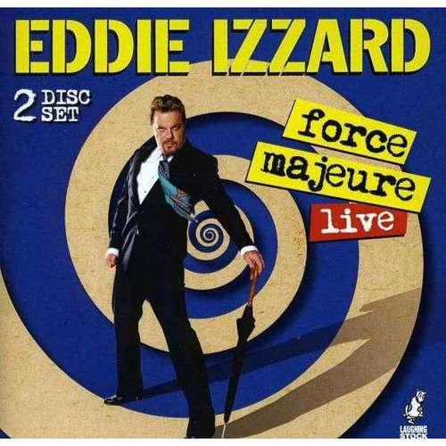 Eddie Izzard - force majeure Live 2CD